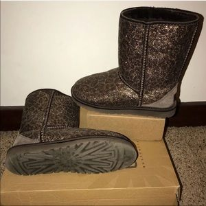 Authentic Ugg Animal Print Boots